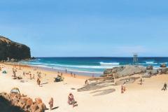 Redhead Beach Panorama